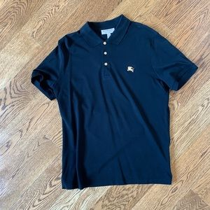 New with tag Burberry polo shirt L fits like M